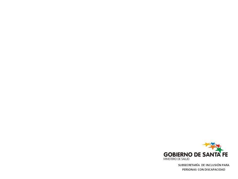 SUBSECRETARÍA DE INCLUSIÓN PARA PERSONAS CON DISCAPACIDAD