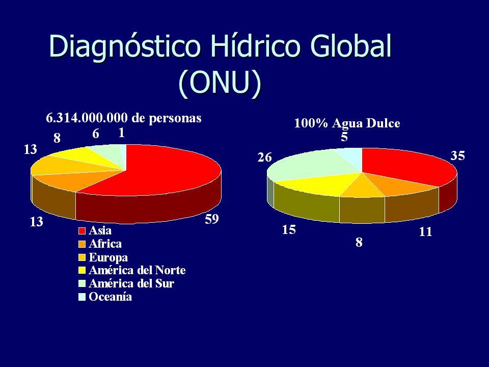 Diagnóstico Hídrico Global (ONU)