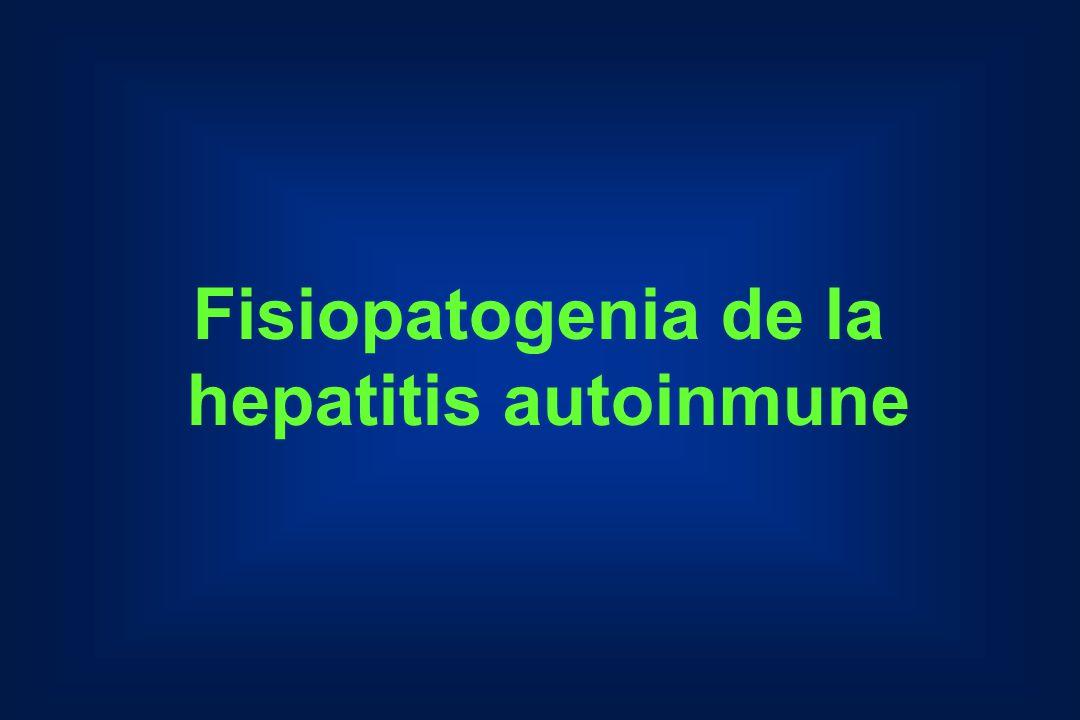 Fisiopatogenia de la hepatitis autoinmune