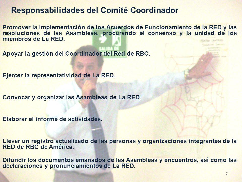 COORDINACIÓN DEL FODA DE LA RED REFLEXIONES SOBRE EL TRABAJO EMPRENDIDO… FORTALEZAS: - Algunos países de la RED ya se han empoderado de la Estrategia.