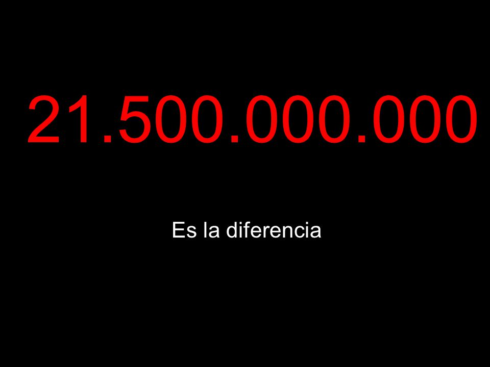 Es la diferencia 21.500.000.000