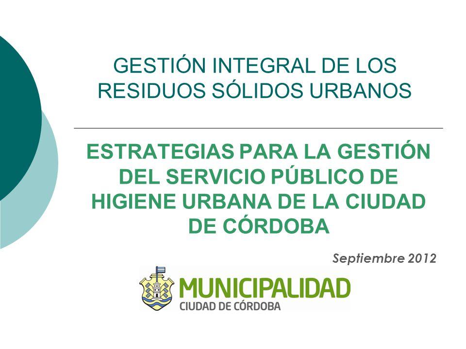 ¿Qué necesita la Ciudad de Córdoba.Principios Rectores de SPHU ¿Cómo satisfacer esas necesidades.