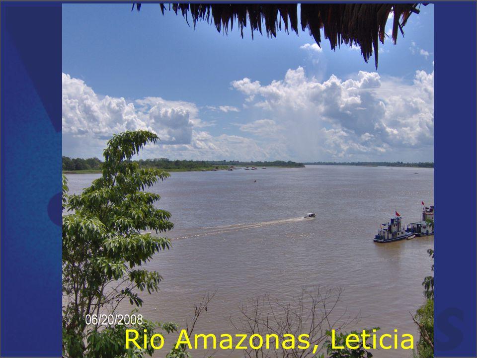 . Rio Amazonas, Leticia