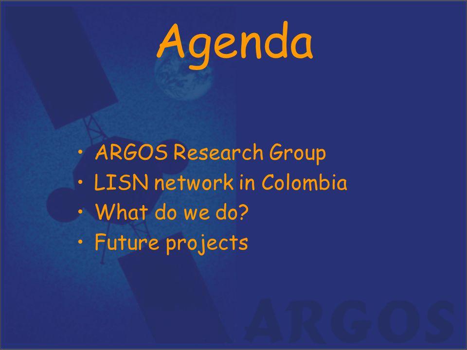 ARGOS (research group) –Jaime Villalobos, Ph.D.–Juan Carlos Palacios, Ms.Sc.