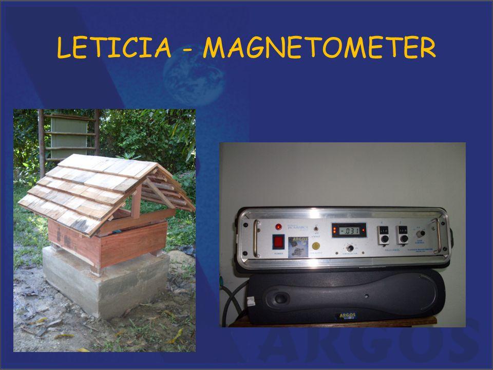 LETICIA - MAGNETOMETER