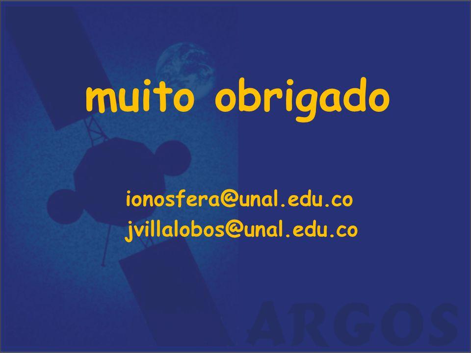 muito obrigado ionosfera@unal.edu.co jvillalobos@unal.edu.co