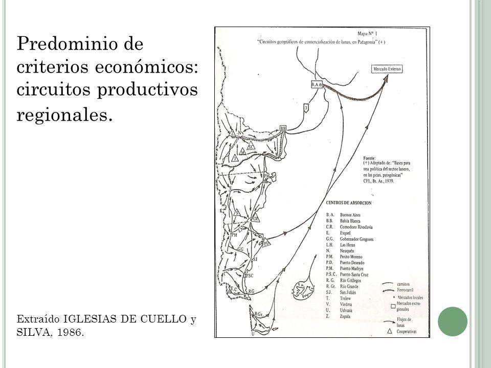 P RINCIPALES ANTECEDENTES DE REGIONALIZACIÓN DE LA A RGENTINA DESDE EL E STADO N ACIONAL Consejo Federal de Inversiones CFI Bases para el Desarrollo Regional Argentino (1963) Criterio región plan de administración del desarrollo.