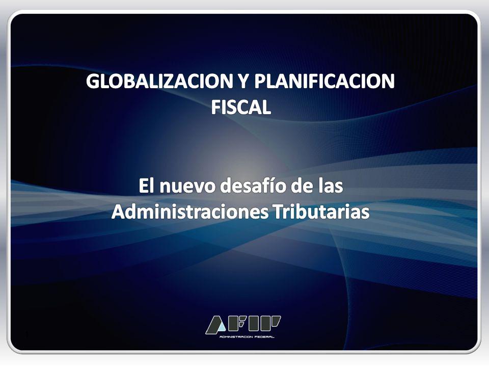 ENTORNO INTERNACIONAL GLOBALIZACION Y PLANIFICACION FISCAL Globalización Económica.