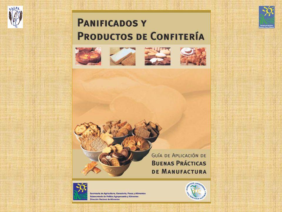 Actualización de la Guía de BPM para productos Panificados y de Confitería del año 2002 A cargo de la Dirección Nacional de Alimentos Con la colaboración del Téc.