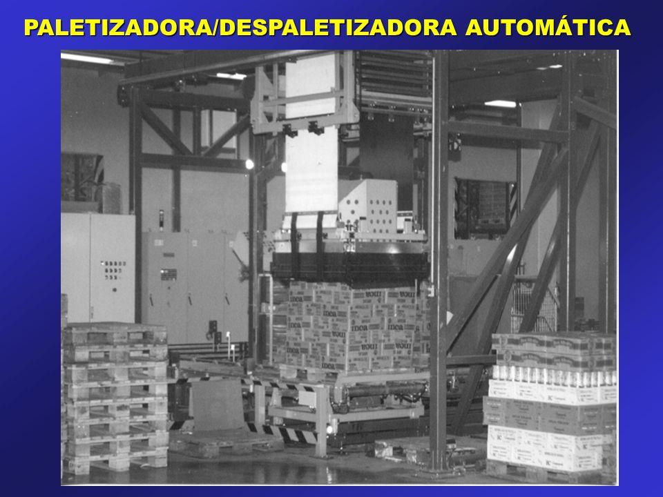 PALETIZADORA/DESPALETIZADORA AUTOMÁTICA