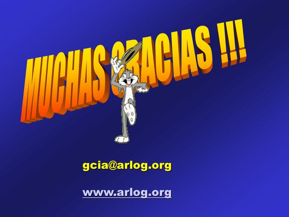 gcia@arlog.org www.arlog.org