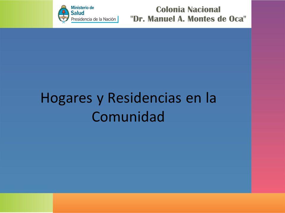 Hogares y Residencias en la Comunidad