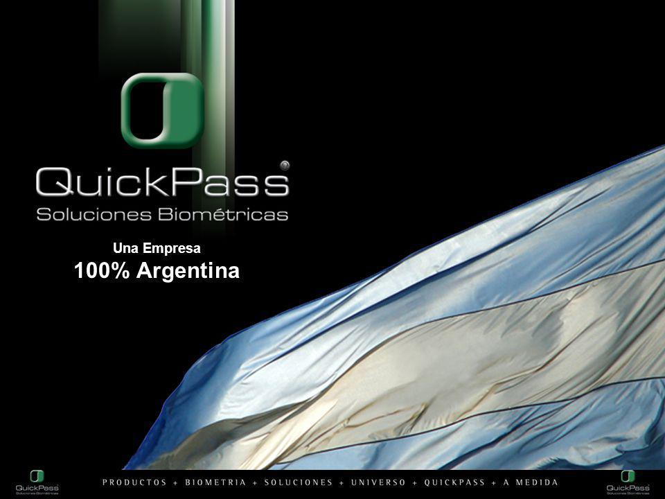 Una Empresa 100% Argentina