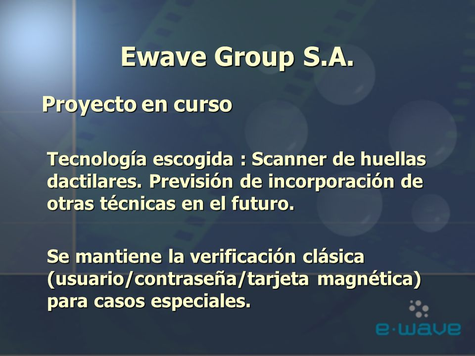 Ewave Group S.A.