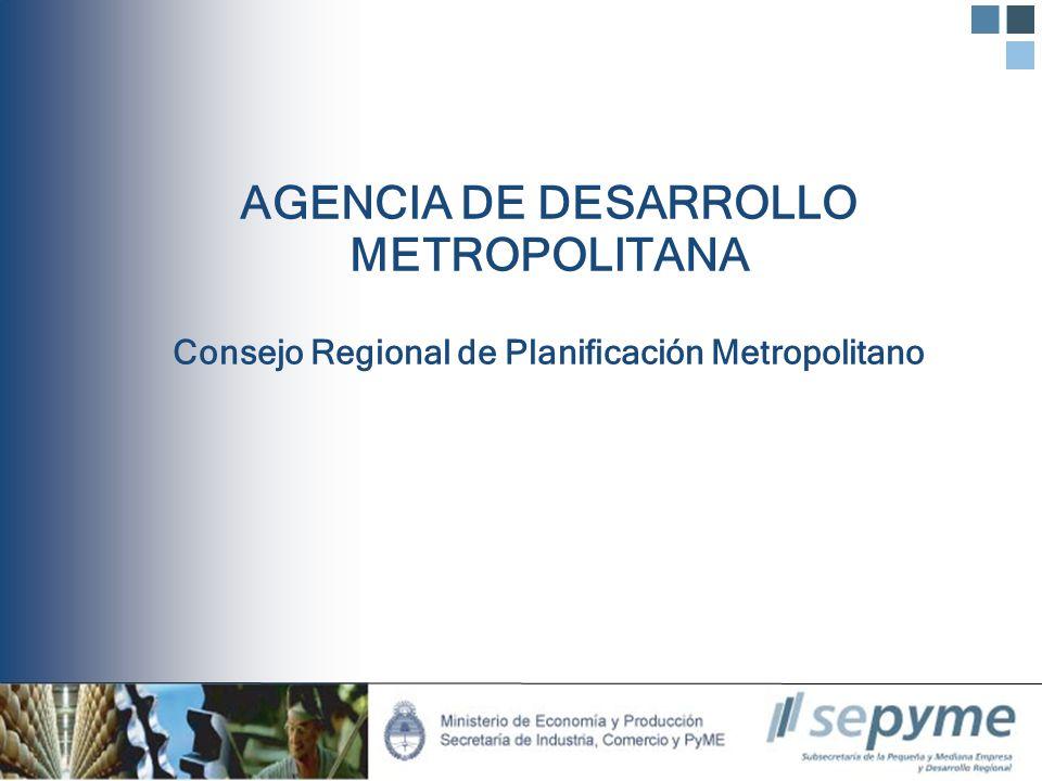 Presentación de Ideas proyecto Agencia de Desarrollo Metropolitano Avda.