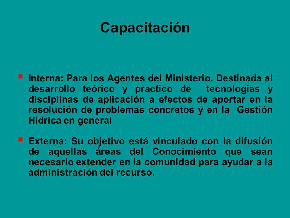 Capacitación Interna: Para los Agentes del Ministerio.