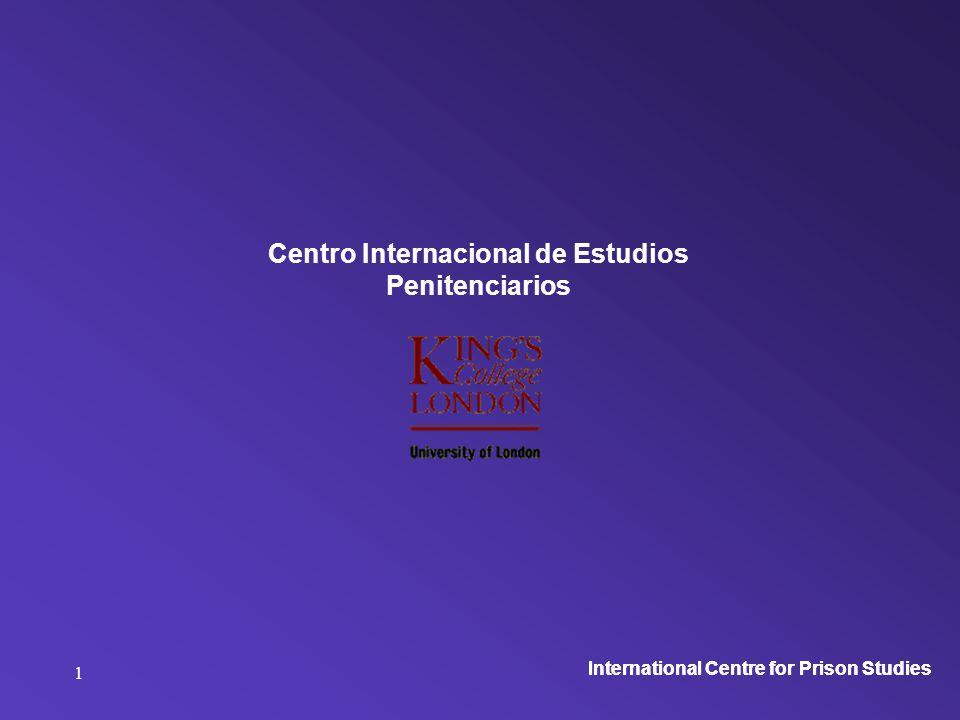 International Centre for Prison Studies 2 Centro internacional de estudios penitenciarios El monitoreo de las cárceles órganos de control Argentina noviembre 2008