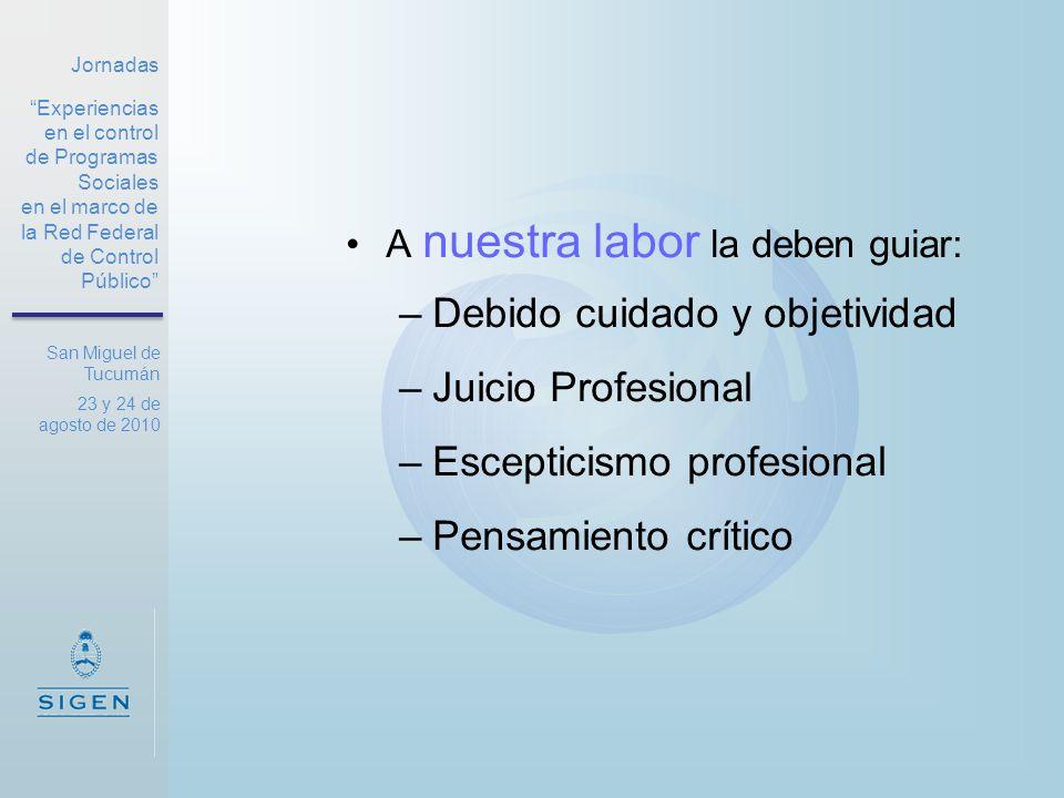 Jornadas Experiencias en el control de Programas Sociales en el marco de la Red Federal de Control Público San Miguel de Tucumán 23 y 24 de agosto de 2010 ¡Muchas gracias!