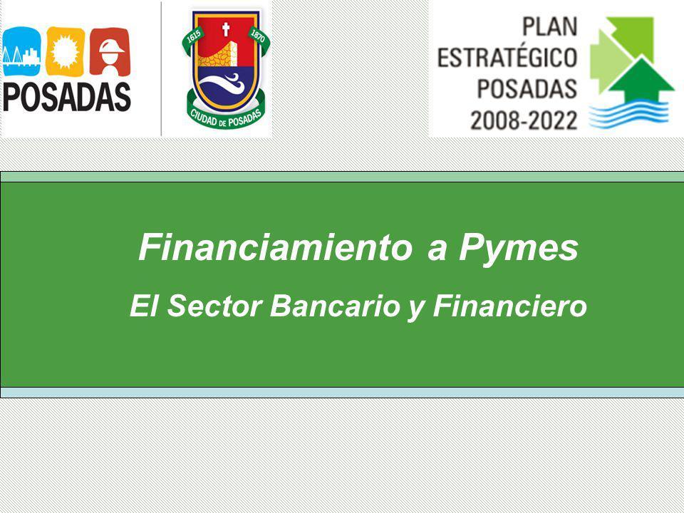 Financiamiento a Pymes El Sector Bancario y Financiero