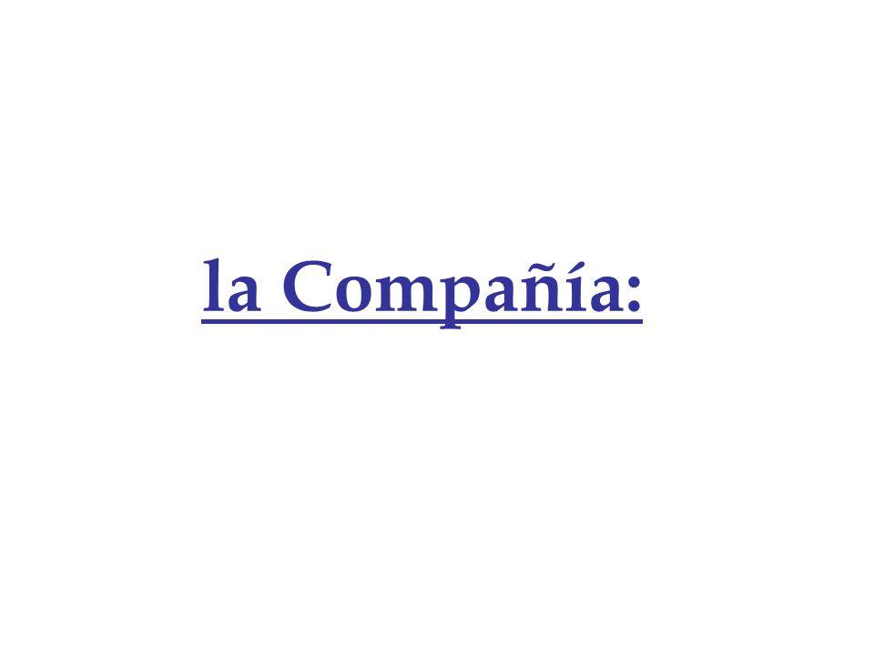 la Compañía: