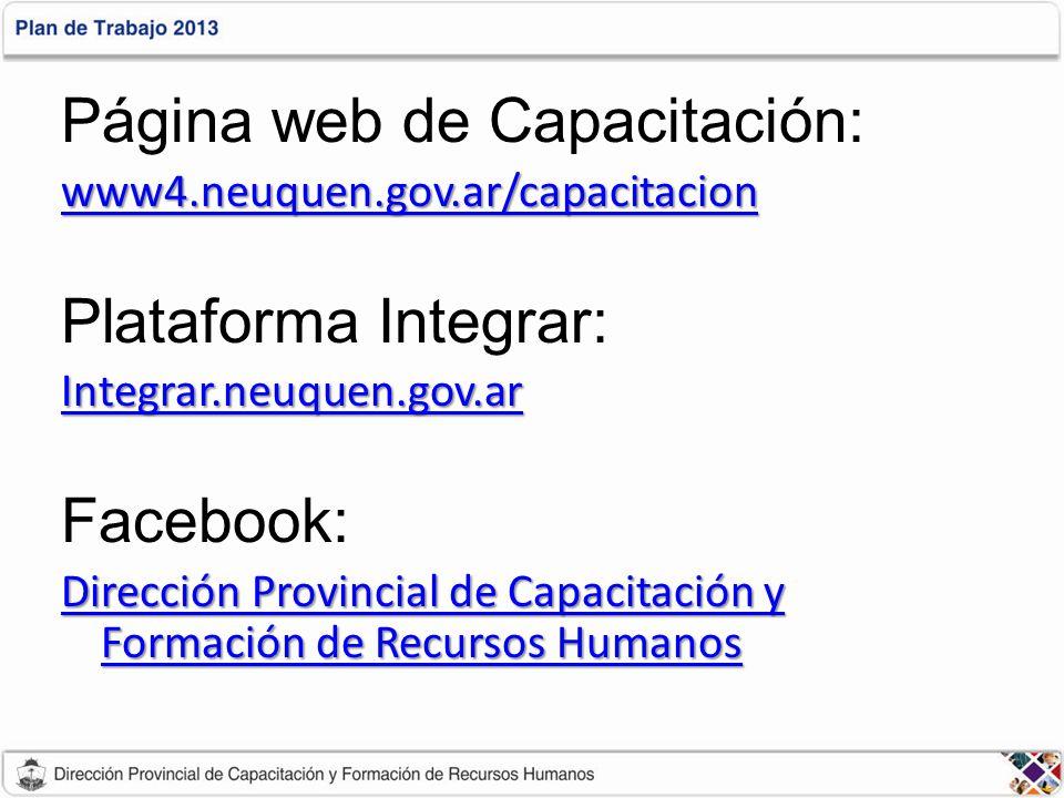 Página web de Capacitación: wwww wwww wwww 4444....
