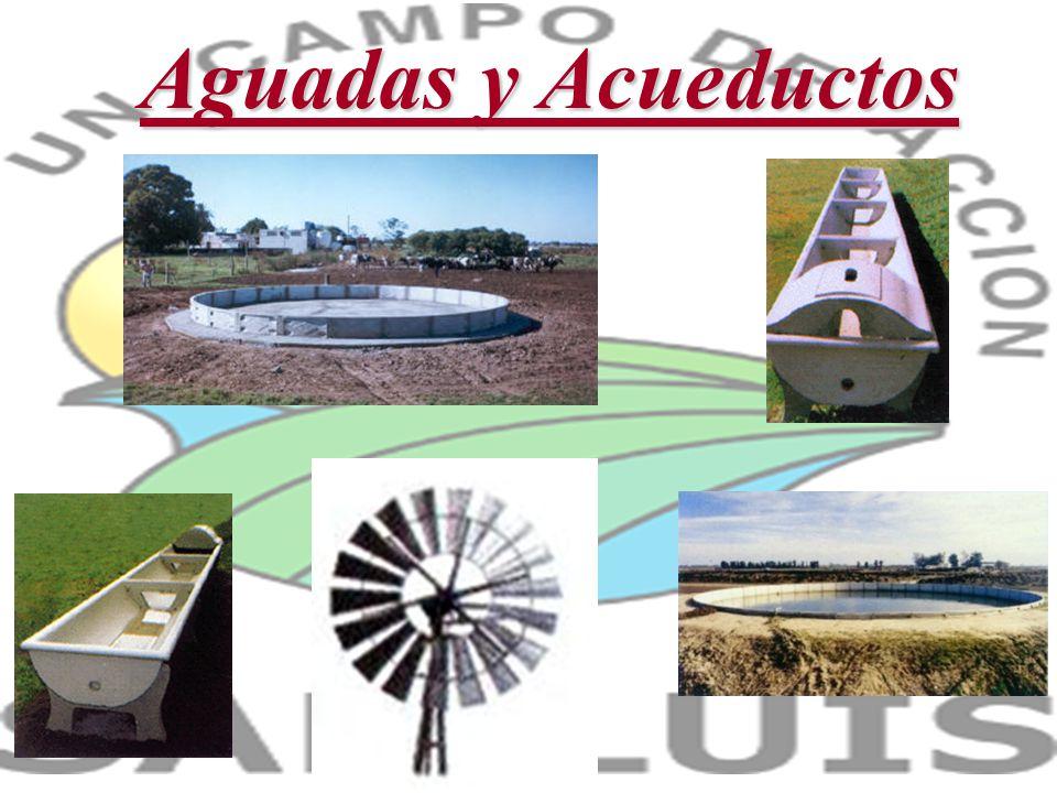 Aguadas y Acueductos