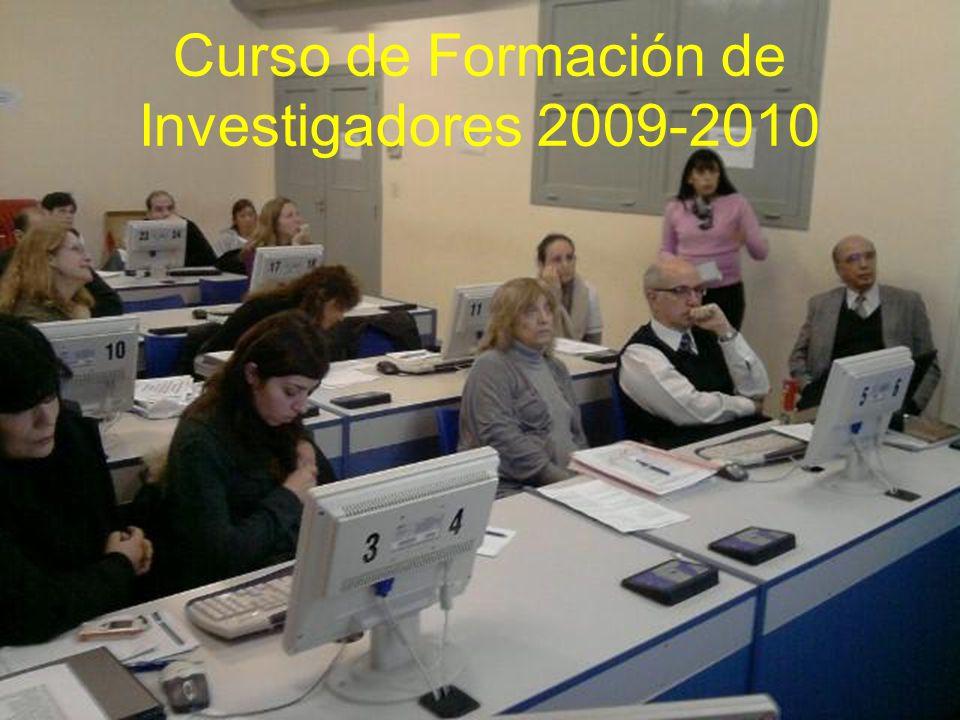 Curso de Formación de Investigadores 2009-2010