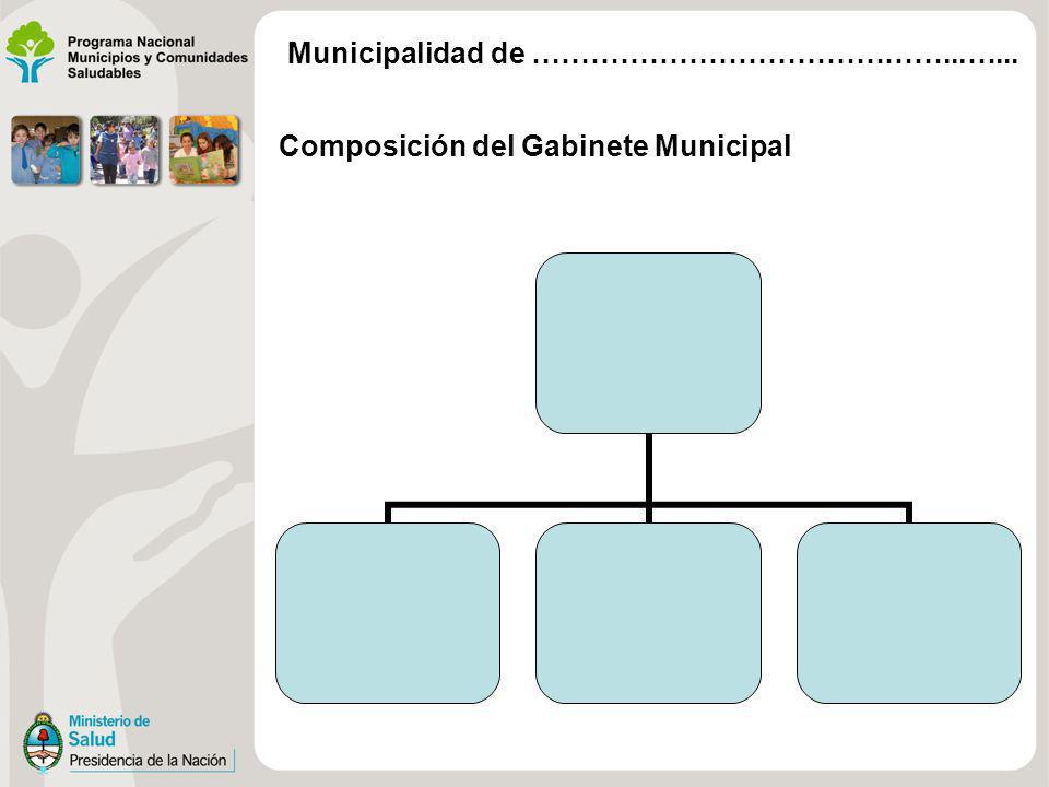 Caracterización de Estructuras por Dimensión Municipalidad de ……………………………………...…...