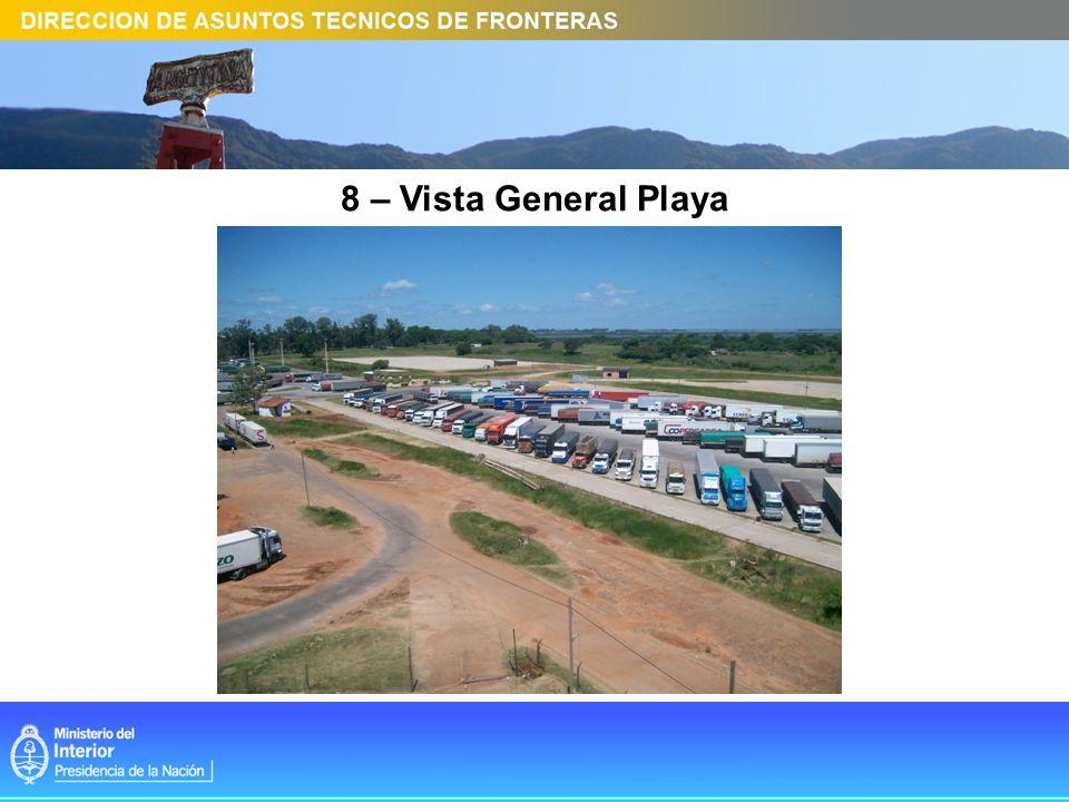 8 – Vista General Playa