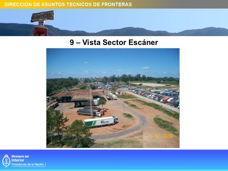 9 – Vista Sector Escáner