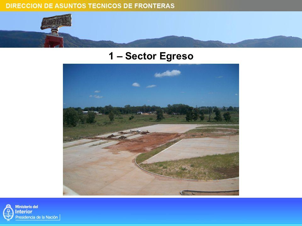 1 – Sector Egreso