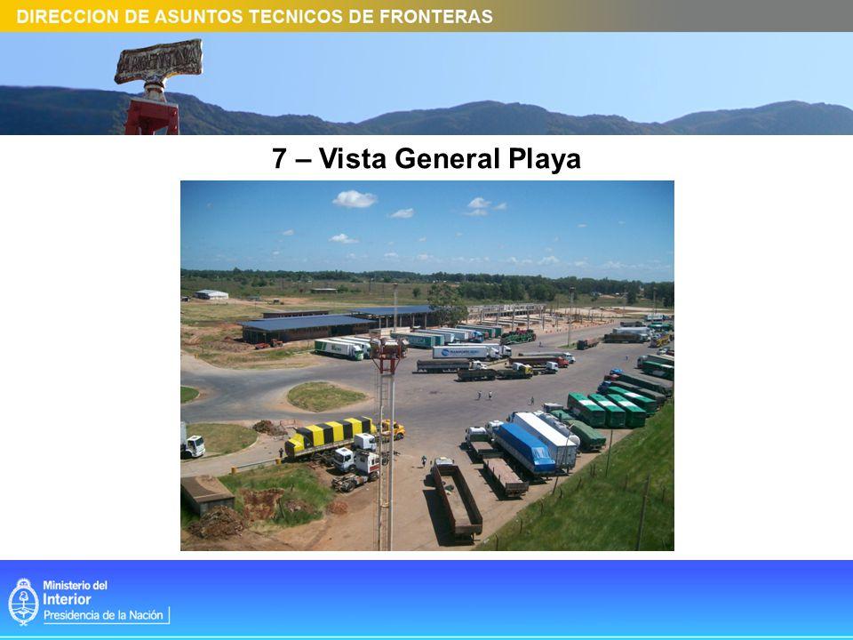 7 – Vista General Playa