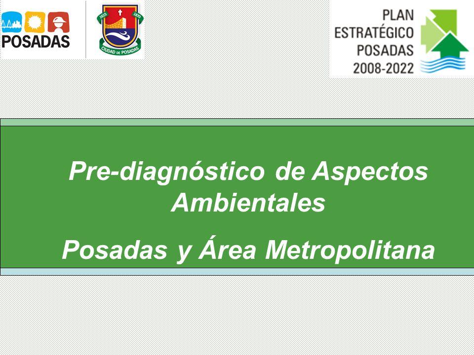 Pre-diagnóstico de Aspectos Ambientales Posadas y Área Metropolitana