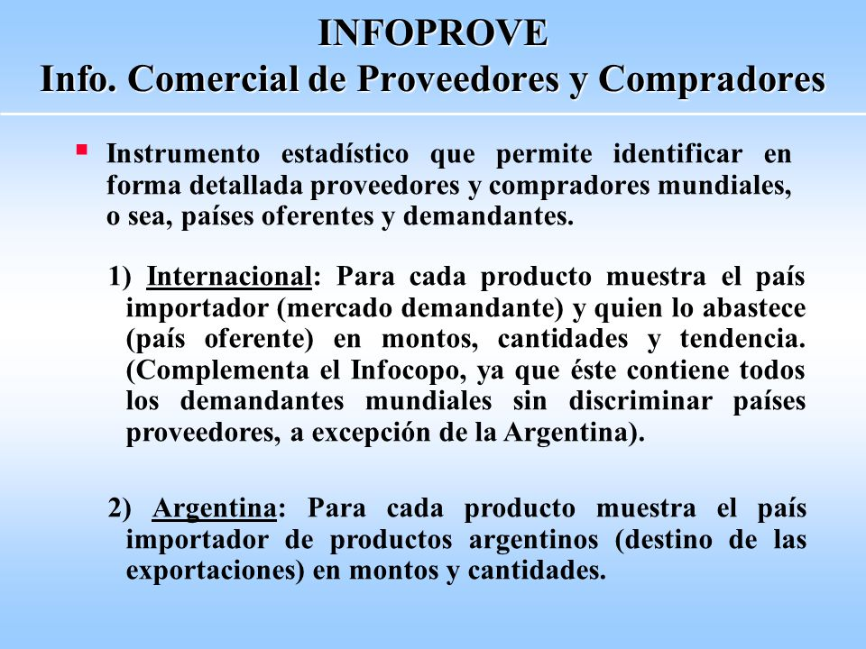 INFOPROVE Info.