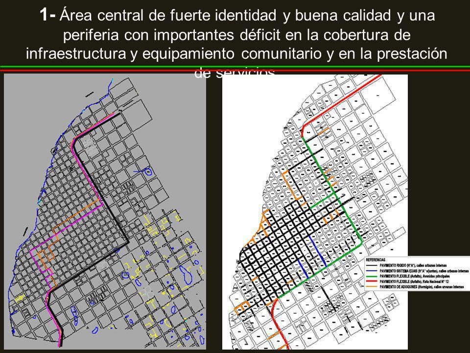 2- La actual traza de la Ruta Nacional 12 actúa como barrera urbanística y constituye un riesgo para la población