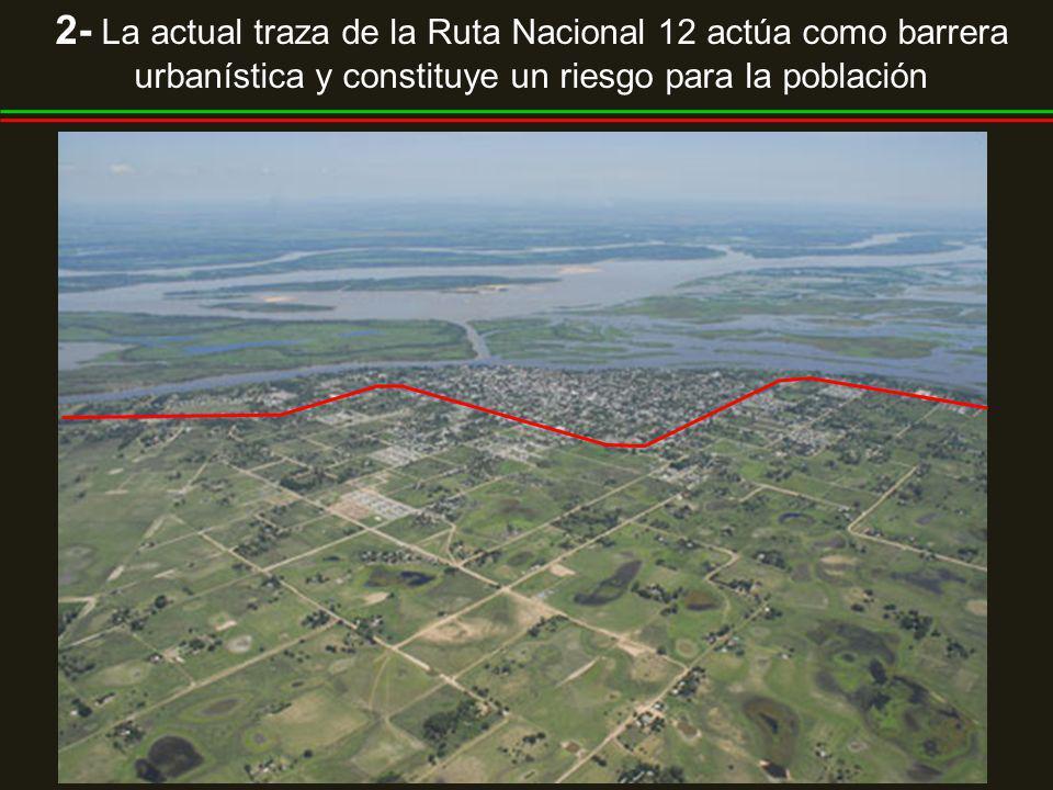 3- La periferia de la ciudad siguió un patrón de crecimiento extensivo y disperso que presiona sobre el sistema de lagunas existentes