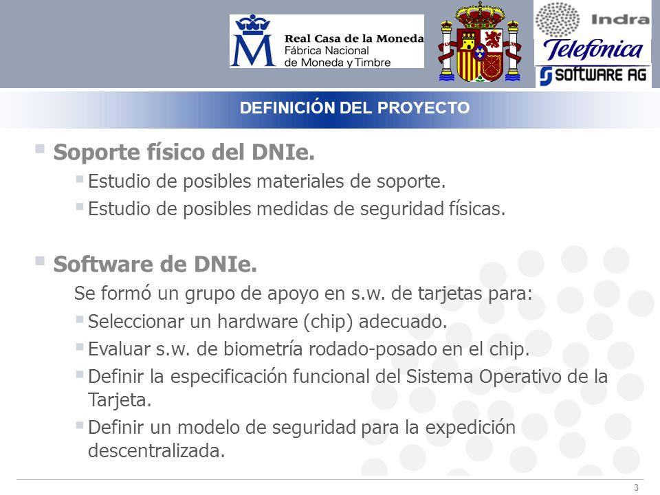 3 Soporte físico del DNIe.Estudio de posibles materiales de soporte.