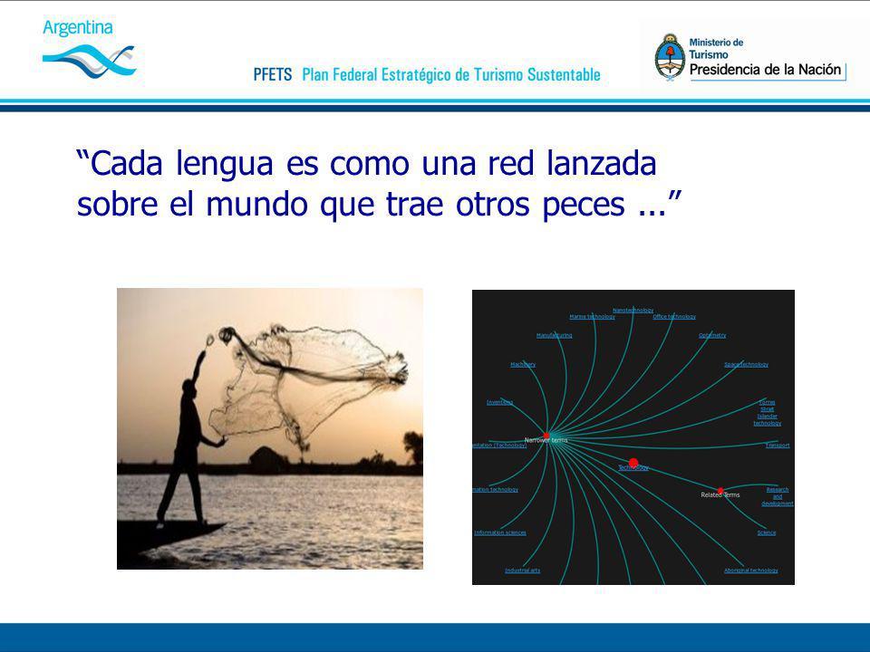 Cada lengua es como una red lanzada sobre el mundo que trae otros peces...