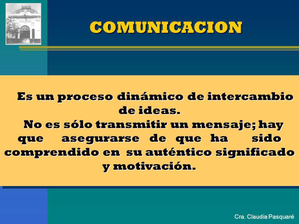 ASPECTOS COMUNICACIONALES...