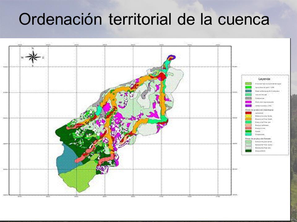 Ordenación territorial de la cuenca