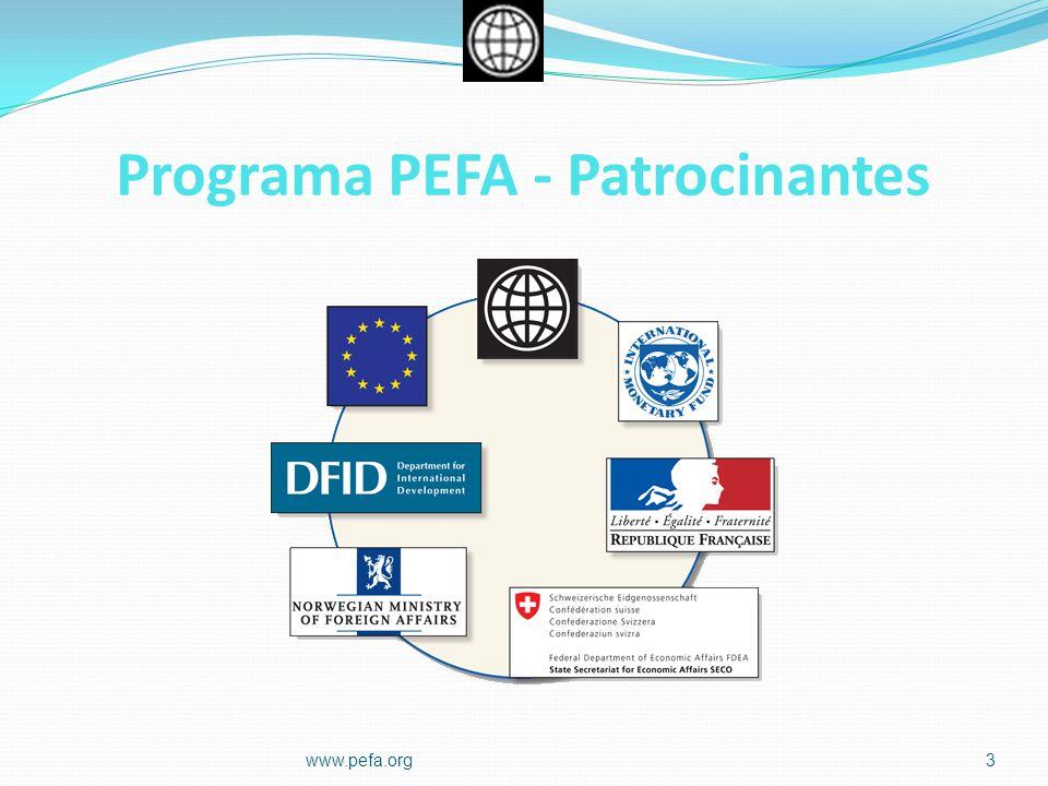 Programa PEFA - Patrocinantes 3www.pefa.org