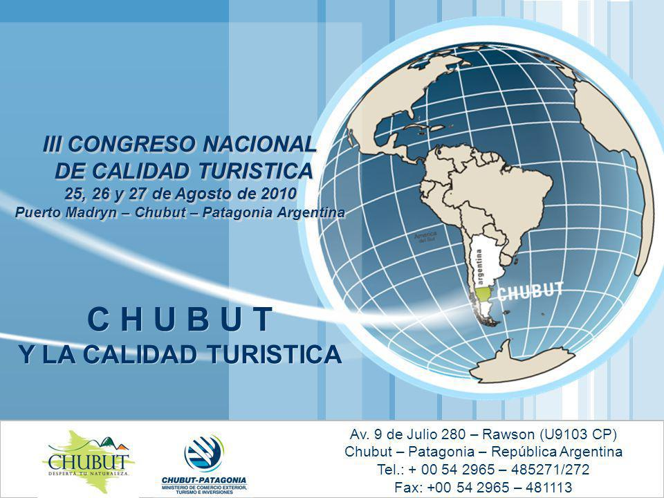SUBSECRETARIA DE TURISMO Y ÁREAS PROTEGIDAS Av.