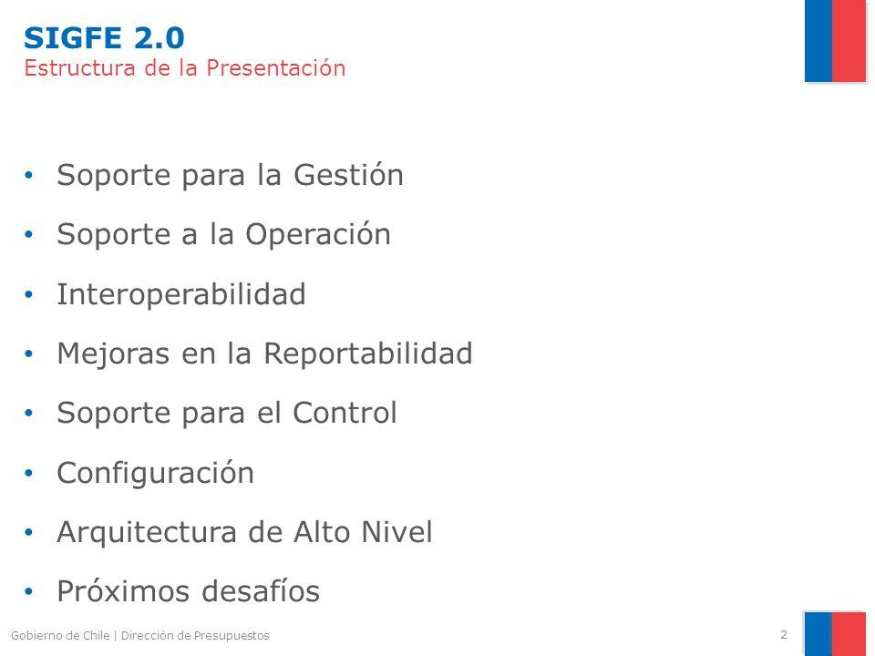 SIGFE 2.0: Mejoras en la Reportabilidad 3.