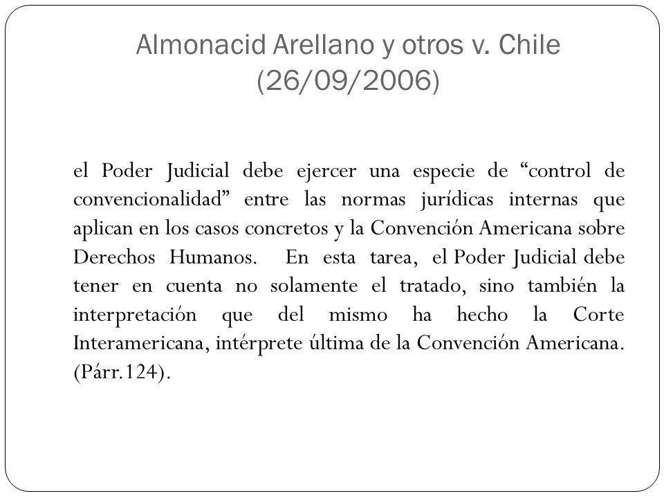 Almonacid Arellano y otros v.