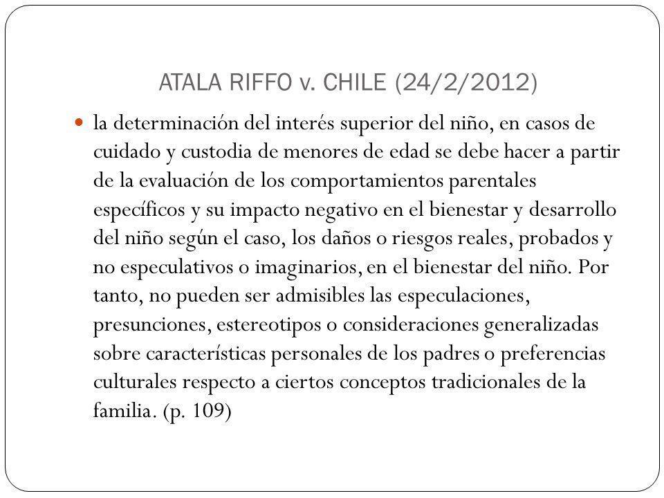 ATALA RIFFO v.