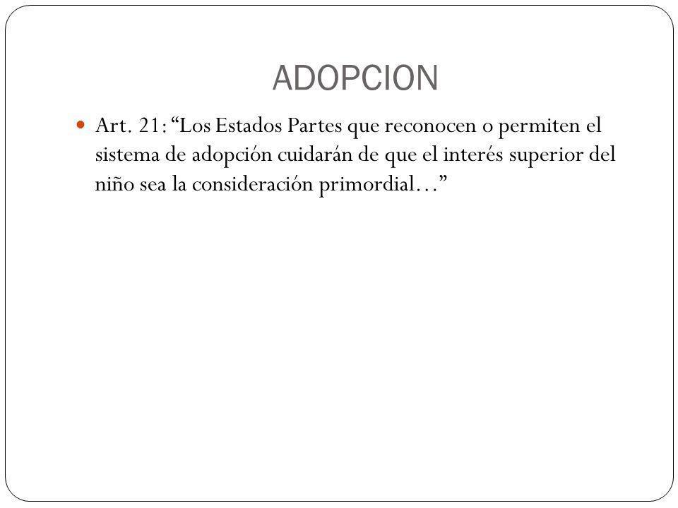 NIÑOS PRIVADOS DE SU LIBERTAD Art.37 inc.