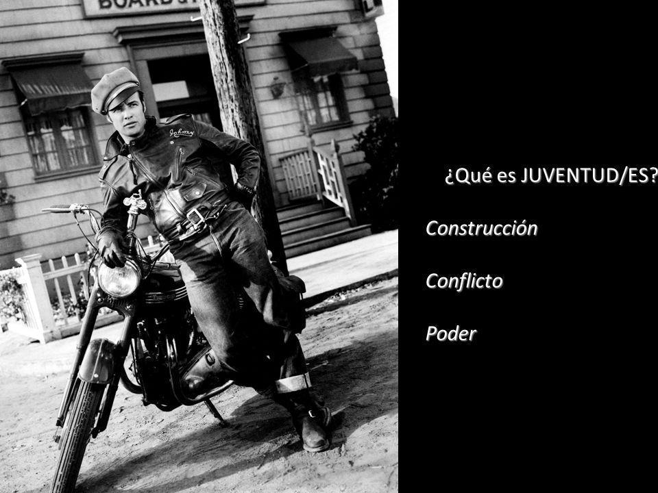 ¿Qué es JUVENTUD/ES? ConstrucciónConflictoPoder