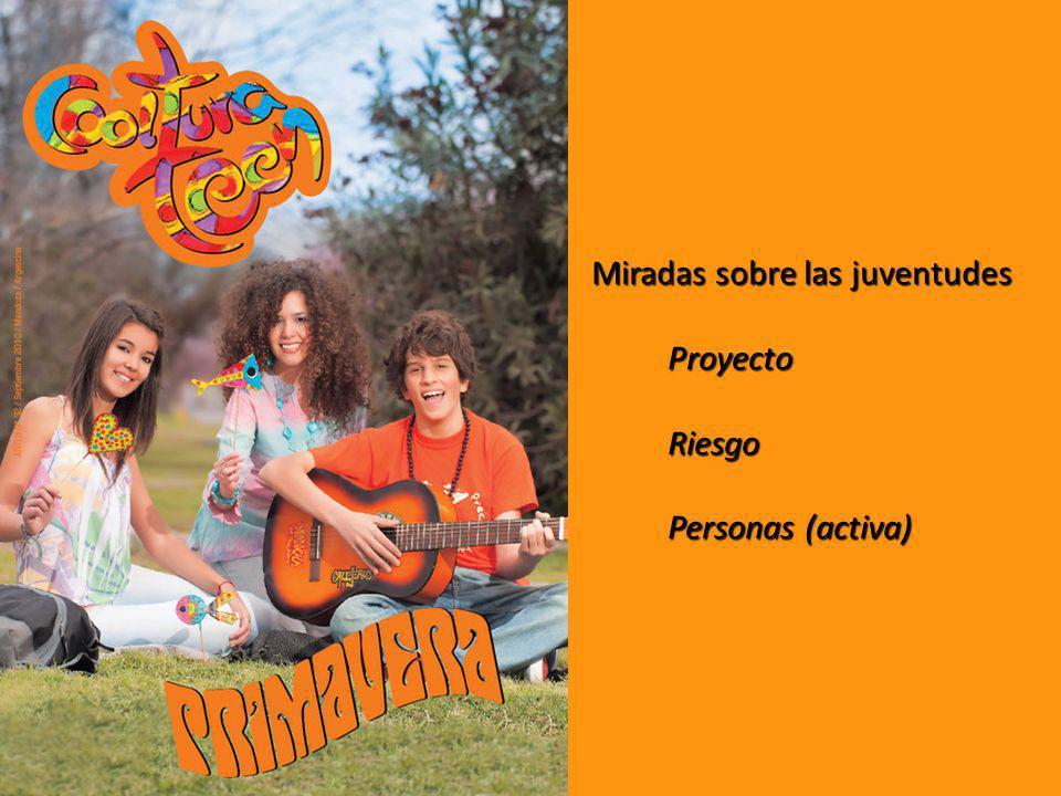 Miradas sobre las juventudes ProyectoRiesgo Personas (activa)