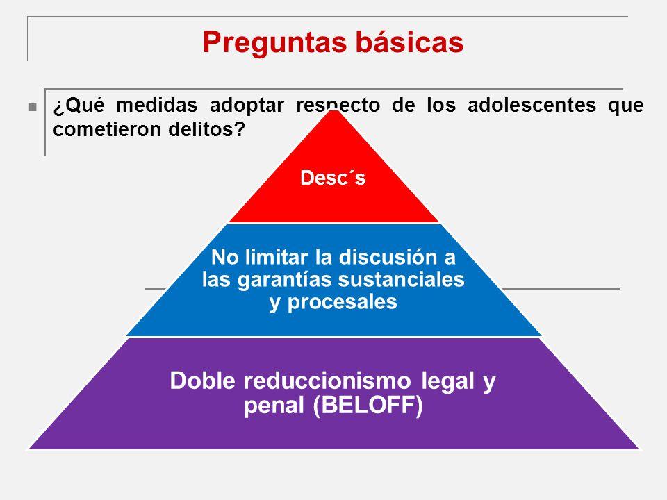 Intimidad El proceso debe ser reservado, excepto para el niño y sus representantes.
