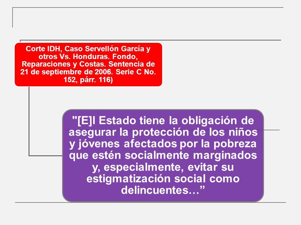 Derecho de defensa (OG 10) El niño deberá ser informado en unos términos que pueda comprender.